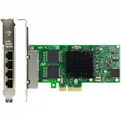 Lenovo - 00AG520 - Lenovo Intel I350-T4 4xGbE BaseT Adapter for IBM System x - PCI Express 2.0 - 4 Port(s) - 4 x Network (RJ-45) - Twisted Pair - Low-profile