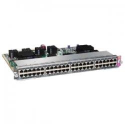 Cisco - WS-X4748-UPOE+E= - Cisco WS-X4748-UPOE+E Service Module - 48 x 10/100/1000Base-T LAN