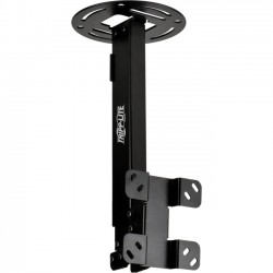 Tripp Lite - DCTM - Tripp Lite Display TV Ceiling Monitor Mount Arm Swivel Tilt 13-37 Screen - 80 lb Load Capacity - Steel - Black