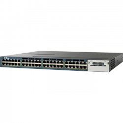 Cisco - WS-C3560V248PSS-RF - Cisco Catalyst 3560V2-48PS Layer 3 Switch - Refurbished - 48 x Fast Ethernet Network, 4 x Gigabit Ethernet Expansion Slot - Manageable - 3 Layer Supported - 1U High