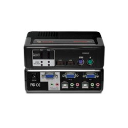 Avocent - 2SVPUA10-001 - Avocent SwitchView MM1 KVM Switch - 2 x 1 - 2 x Type B USB, 2 x HD-15 Monitor