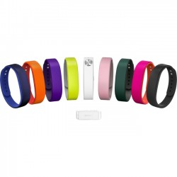 Sony - 1280-9636 - Sony SmartBand Wrist Strap SWR110 - 3 - Red, Blue, Black - Silicon