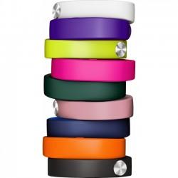 Sony - 1280-9638 - Sony SmartBand Wrist Strap SWR110 - 3 - White, Pink, Green - Silicon