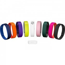 Sony - 1280-9634 - Sony SmartBand Wrist Strap SWR110 - 3 - Red, Blue, Black - Silicon