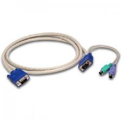 Avocent - SVUSB-9 - Avocent KVM Audio Cable - 8.86ft