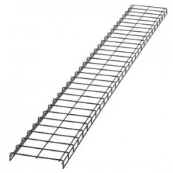 Panduit - WG12BL10 - Panduit Wyr-Grid Overhead Cable Tray Routing System - Cable Tray - Black Powder Coat - Steel, Cold Rolled Steel