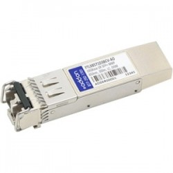 AddOn - FTLX8571D3BCV-AO - AddOn Finisar FTLX8571D3BCV Compatible TAA Compliant 10GBase-SR SFP+ Transceiver (MMF, 850nm, 300m, LC, DOM) - 100% compatible and guaranteed to work