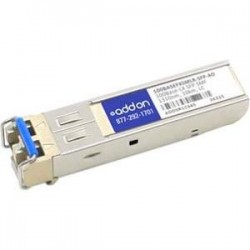 AddOn - 100BASEFXSMLR-SFP-AO - AddOn HP 100BASEFXSMLR-SFP Compatible TAA Compliant 100Base-LX SFP Transceiver (SMF, 1310nm, 40km, LC) - 100% compatible and guaranteed to work