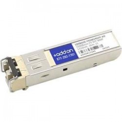 AddOn - 100BASE-FXSMVRSFP-AO - AddOn HP 100BASE-FXSMVRSFP Compatible TAA Compliant 100Base-ZX SFP Transceiver (SMF, 1550nm, 80km, LC) - 100% compatible and guaranteed to work