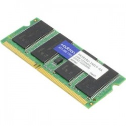 AddOn - PA3918U-1M2G-AA - AddOn Toshiba PA3918U-1M2G Compatible 2GB DDR3-1333MHz Unbuffered Dual Rank 1.5V 204-pin CL9 SODIMM - 100% compatible and guaranteed to work