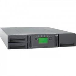 Lenovo - 61732UL - Lenovo System Storage TS3100 Tape Library - 0 x Drive/24 x Slot - Network (RJ-45) - USB - Barcode Reader - 2URack-mountable