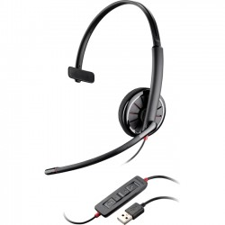 Plantronics - 85618-05 - Plantronics Blackwire C310-M Headset - Mono - USB - Wired - Over-the-head - Monaural - Supra-aural - Noise Cancelling Microphone