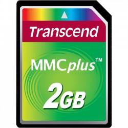 Transcend - TS2GMMC4 - Transcend 2GB MMCplus - 2 GB