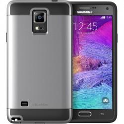 I-Blason - GALXY-NOTE4-UNITY-GUNMETAL - i-Blason Samsung Galaxy Note 4 Unity 2 Layer Slim Armored Case - Smartphone - Gunmetal Gray - Rubberized - Thermoplastic Polyurethane (TPU), Polycarbonate