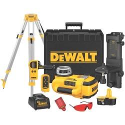 Dewalt - DW079KDT - Dewalt 18V Self-Leveling Int/Ext Rotary Laser Package