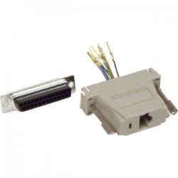 Belkin / Linksys - F4C390 - Belkin - Serial adapter - RJ-45 (F) to DB-25 (M) - gray
