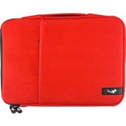 Small Dog Electronics - 5/HAM12353 - Small Dog Electronics Carrying Case (Sleeve) for 13 MacBook Pro, MacBook Air - Red - Neoprene