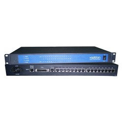 AddOn - ADD-SERIAL-SERV-16 - AddOn 16-Port Serial RS232 to Ethernet Converter - 100% compatible and guaranteed to work