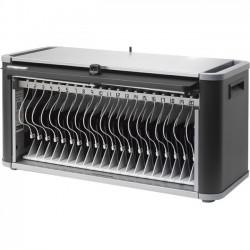 Bretford - HE406BG2 - Bretford PowerSync+ Station 20 for iPad and iPad mini - 14.7 Height x 28.7 Width x 15 Depth - Wall Mountable - Steel, Aluminum - Graphite