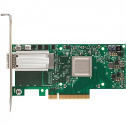 Mellanox Technologies - MCX415A-CCAT - Mellanox ConnectX-4 EN Network Interface Card - PCI Express 3.0 x16 - 1 Port(s) - Optical Fiber