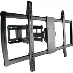 Tripp Lite - DWM60100XX - Tripp Lite Display TV Wall Monitor Mount Swivel/Tilt 60 to 100 TVs / Monitors / Flat-Screens - 300 lb Load Capacity - Metal - Black