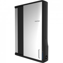 Ergotron - DM12-1006-1 - Ergotron Zip12 Charging Wall Cabinet - Up to 12 Screen Support - 44.40 lb Load Capacity - 35.6 Height x 26.4 Width x 5.9 Depth - Wall Mountable - Steel - Black, Silver