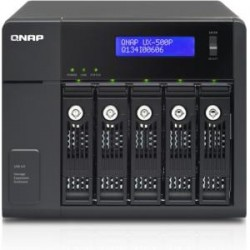 QNAP Systems - UX-500P - QNAP UX-500P Drive Enclosure Tower - 5 x HDD Supported - Software RAID Supported - 5 x Total Bay - 5 x 2.5/3.5 Bay - Serial ATA/600 - USB 3.0 - Cooling Fan