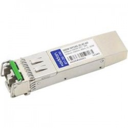 AddOn - 50DW-SFP10G-35.82-AO - AddOn Cisco Compatible TAA Compliant 10GBase-DWDM 50GHz SFP+ Transceiver (SMF, 1535.82nm, 80km, LC, DOM) - 100% compatible and guaranteed to work