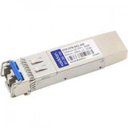 AddOn - 019-078-041-AO - AddOn EMC 019-078-041 Compatible TAA Compliant 10GBase-SR SFP+ Transceiver (MMF, 850nm, 300m, LC, DOM) - 100% compatible and guaranteed to work