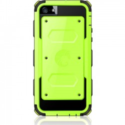 I-Blason - 5C-ARMOR-GREEN - i-Blason Armorbox Dual Layer Hybrid Protective Case for iPhone 5C - iPhone 5c - Green - Dotted-Pattern - Thermoplastic Polyurethane (TPU), Polycarbonate