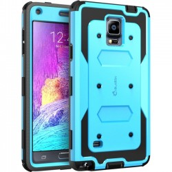 I-Blason - GN4-AB-BLUE - i-Blason Samsung Galaxy Note 4 Armorbox Dual Layer Full Body Protective Case - Smartphone