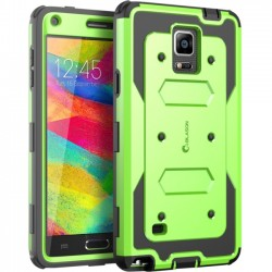 I-Blason - GN4-AB-GREEN - i-Blason Samsung Galaxy Note 4 Armorbox Dual Layer Full Body Protective Case - Smartphone
