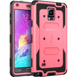 I-Blason - GN4-AB-PINK - i-Blason Samsung Galaxy Note 4 Armorbox Dual Layer Full Body Protective Case - Smartphone