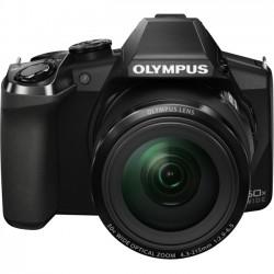 Olympus - V103070BU020 - Olympus Stylus SP-100 16 Megapixel Bridge Camera - Black - 3 LCD - 16:9 - 50x Optical Zoom - 4x - Optical (IS) - 4608 x 3456 Image - 1920 x 1080 Video - HDMI - HD Movie Mode