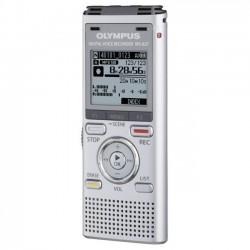 Olympus - V406172SU000 - Olympus WS-821 2GB Digital Voice Recorder - 2 GBmicroSD Supported - MP3, WMA - 493 HourspeaceRecording Time - Portable