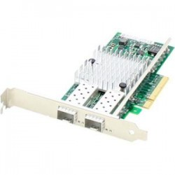 AddOn - 430-3815-AO - AddOn Dell 430-3815 Comparable 10Gbs Dual Open SFP+ Port Network Interface Card with PXE boot - 100% compatible and guaranteed to work