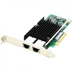 AddOn - 0C19497-AO - AddOn Lenovo 0C19497 Comparable 10Gbs Dual Open RJ-45 Port 100m PCIe x8 Network Interface Card - 100% compatible and guaranteed to work