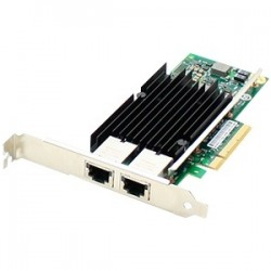 AddOn - 49Y7970-AO - AddOn IBM 49Y7970 Comparable 10Gbs Dual Open RJ-45 Port 100m PCIe x8 Network Interface Card - 100% compatible and guaranteed to work