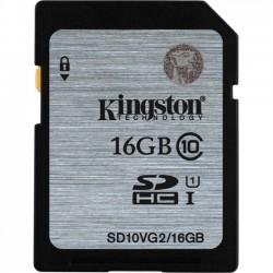 Kingston - SD10VG2/16GB - Kingston 16 GB SDHC - Class 10/UHS-I (U1) - 45 MB/s Read