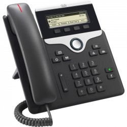 Cisco - CP-7811-K9++= - Cisco IP Phone 7811 - VoIP phone - SIP, SRTP - charcoal