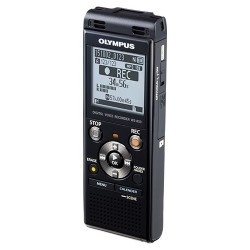 Olympus - V415131BU000 - Olympus WS-853 8GB Digital Voice Recorder - 8 GBmicroSD Supported - MP3 - Headphone - 2080 HourspeaceRecording Time - Portable