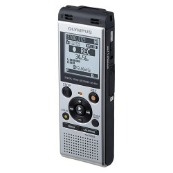 Olympus - V415121SU000 - Olympus WS-852 4GB Digital Voice Recorder - 4 GBmicroSD Supported - MP3 - Headphone - 1040 HourspeaceRecording Time - Portable