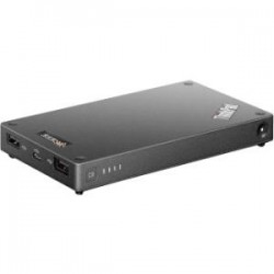 Lenovo - 4XV0H34181 - Lenovo ThinkPad Stack 10000mAh Power Bank - For USB Device - 10000 mAh - 5 V DC Output - 3