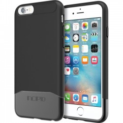 Incipio - IPH-1346-BKBK - Incipio Edge Chrome Hard Shell Slider Case with Chrome Finish for iPhone 6s - iPhone 6S - Black - Chrome - Polycarbonate