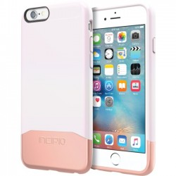 Incipio - IPH-1346-IWHRGD - Incipio Edge Chrome Hard Shell Slider Case with Chrome Finish for iPhone 6s - iPhone 6S - Iridescent White, Rose Gold - Chrome - Polycarbonate