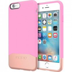 Incipio - IPH-1346-PKRGD - Incipio Edge Chrome Hard Shell Slider Case with Chrome Finish for iPhone 6s - iPhone 6S - Pink, Rose Gold - Chrome - Polycarbonate