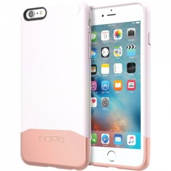 Incipio - IPH-1380-IWHRGD - Incipio Edge Chrome Hard Shell Slider Case with Chrome Finish for iPhone 6s Plus - iPhone 6S Plus - Iridescent White, Rose Gold - Chrome - Polycarbonate