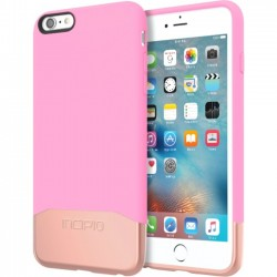 Incipio - IPH-1380-PKRGD - Incipio Edge Chrome Hard Shell Slider Case with Chrome Finish for iPhone 6s Plus - iPhone 6S Plus - Pink, Rose Gold - Chrome - Polycarbonate