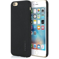 Incipio - IPH-1322-BLK - Incipio Highwire Dual Injected Protective Case for iPhone 6/6s - iPhone 6, iPhone 6S - Black