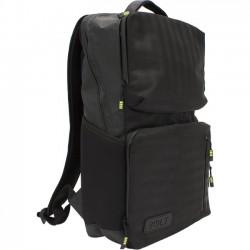 M-Edge - BPK-B4-PO-B - M-Edge Bolt Carrying Case (Backpack) for Tablet PC - Black - Water Proof Zipper, Water Resistant - Nylon Strap, Ethylene Vinyl Acetate (EVA) Strap